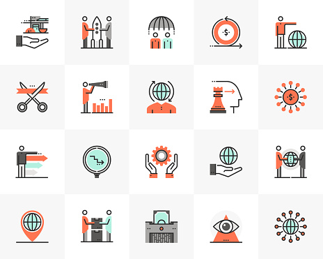 Global Business Futuro Next Icons Pack