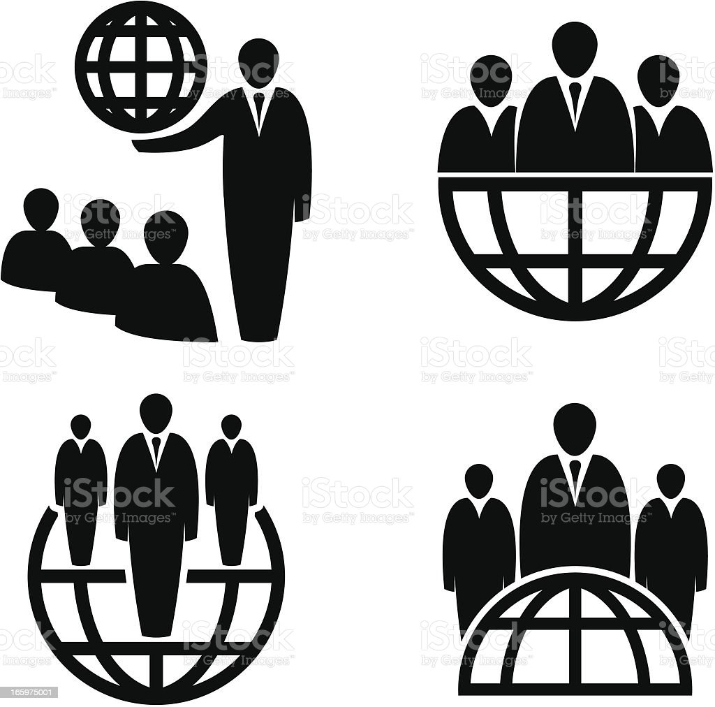 Global business icons royalty-free global business icons stock vector art & more images of adult