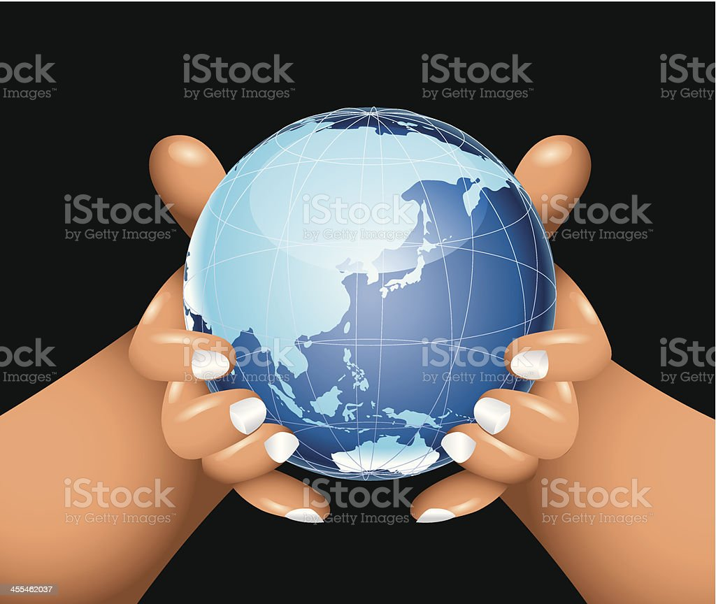 Global Care royalty-free stock vector art