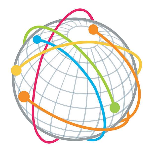 global communication - global communications stock illustrations, clip art, cartoons, & icons
