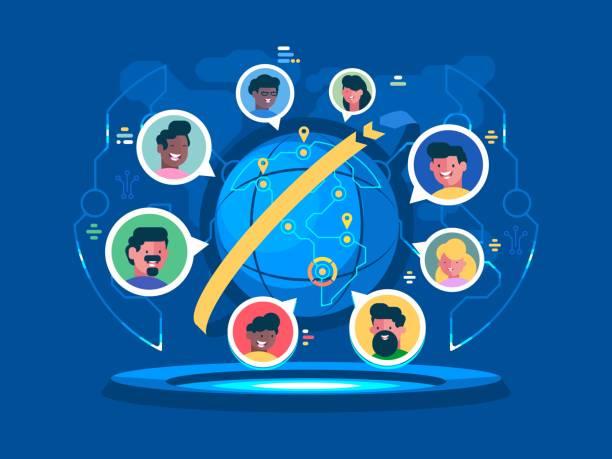 全球通訊 - 國際比賽 幅插畫檔、美工圖案、卡通及圖標
