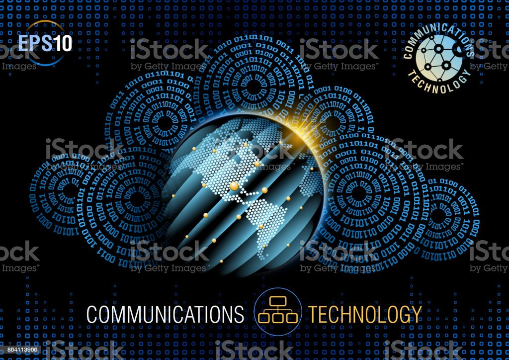 Global communications royalty-free global communications stock vector art & more images of backgrounds