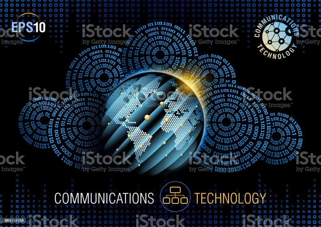Global communications royalty-free global communications stock vector art & more images of africa