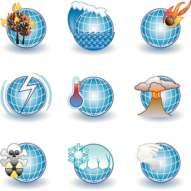 global katastrophen - eiszeit stock-grafiken, -clipart, -cartoons und -symbole