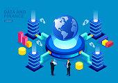 Global financial digital business strategy