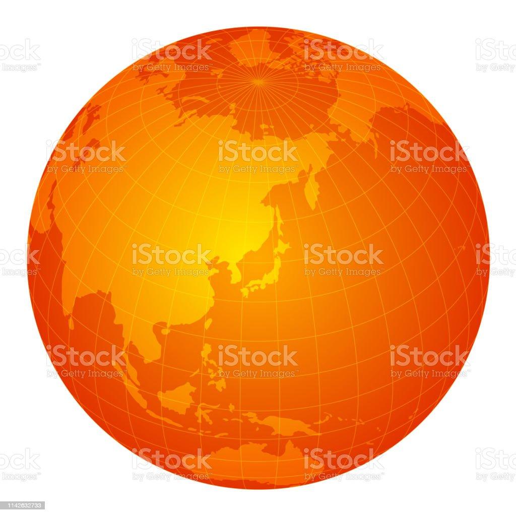 East Orange Focus >> Global Image Illustration Orange Stock Illustration