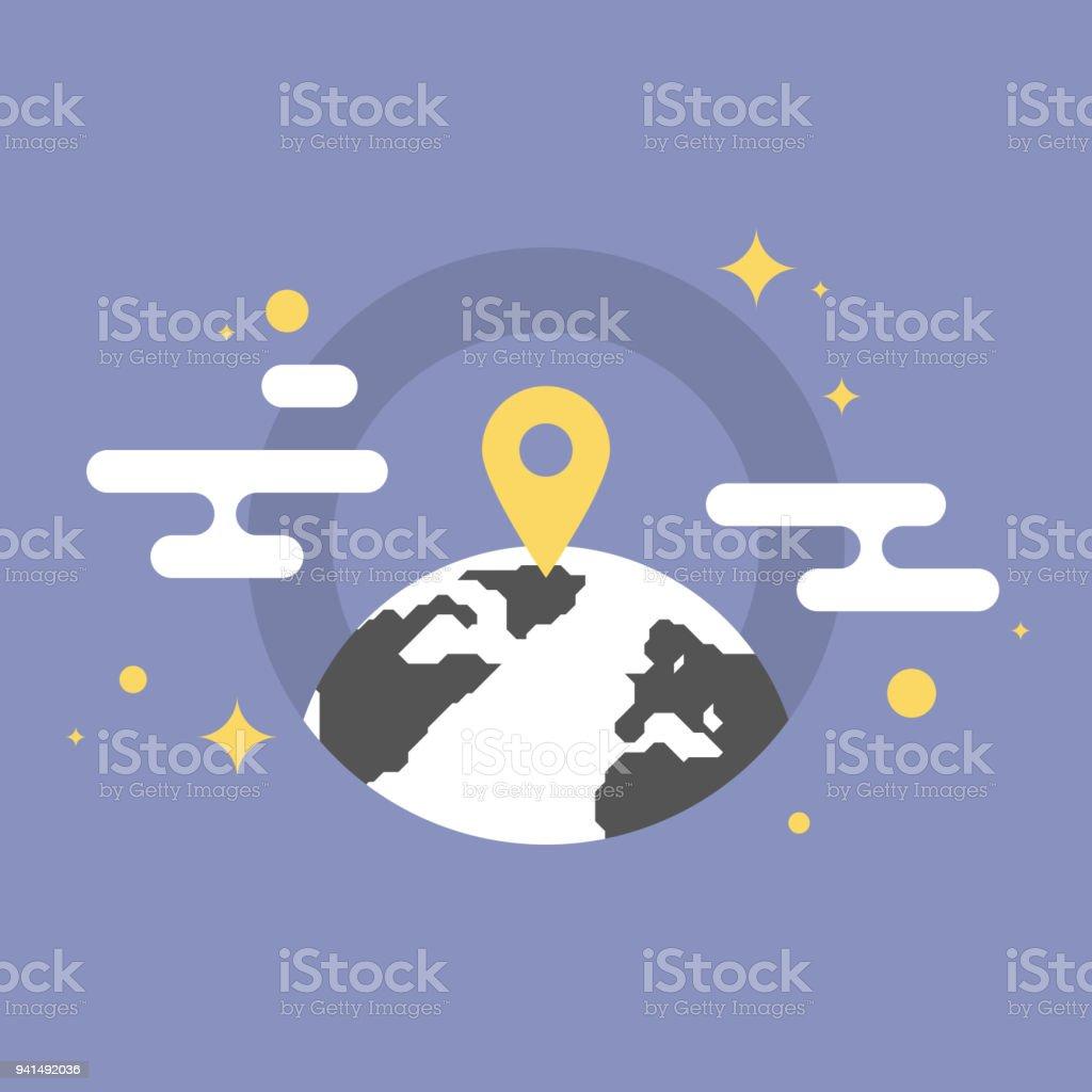 Global location flat icon illustration stock vector art more global location flat icon illustration royalty free global location flat icon illustration stock vector art gumiabroncs Images