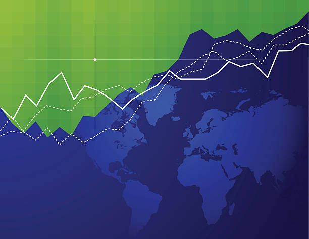 Global Market vector art illustration