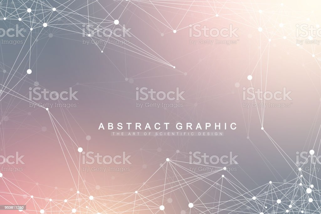 Global network connection. Network and big data visualization background. Futuristic global business. Vector Illustration vector art illustration