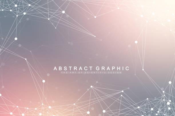 グローバル ネットワーク接続。ネットワークと大きなデータ可視化の背景。未来のグローバル ビジネス。ベクトル図 - 人工知能点のイラスト素材/クリップアート素材/マンガ素材/アイコン素材