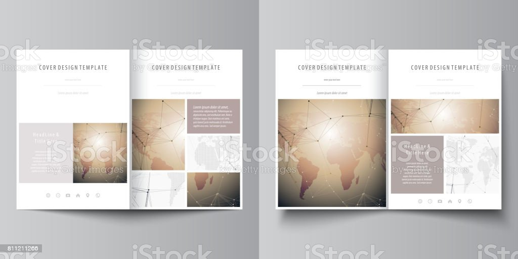 Globalen Netzwerkverbindungen Technikhintergrund Mit Weltkarte Die