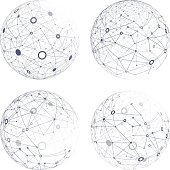 Vector set of a global network