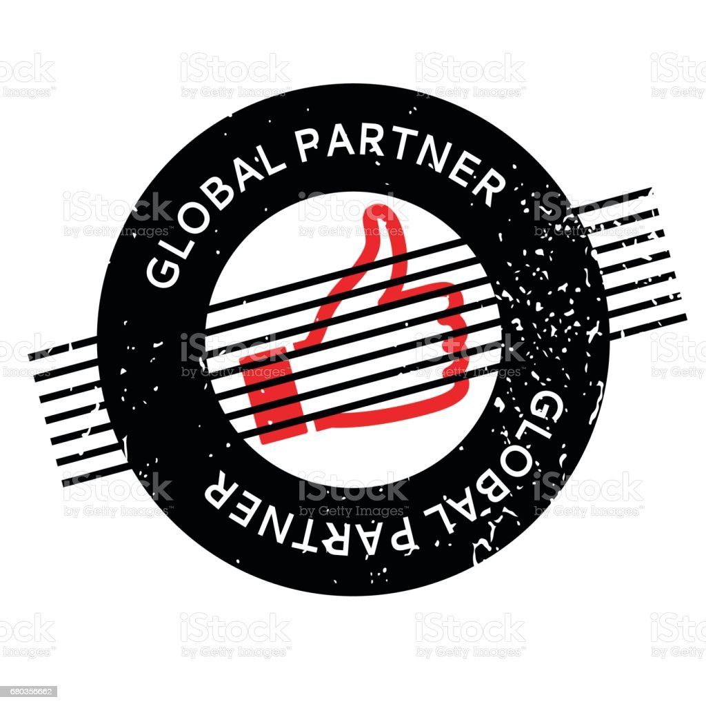 Global Partner rubber stamp royalty-free global partner rubber stamp stock vector art & more images of assistance