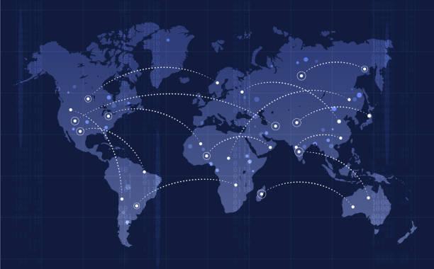 globalny transport - globalny stock illustrations