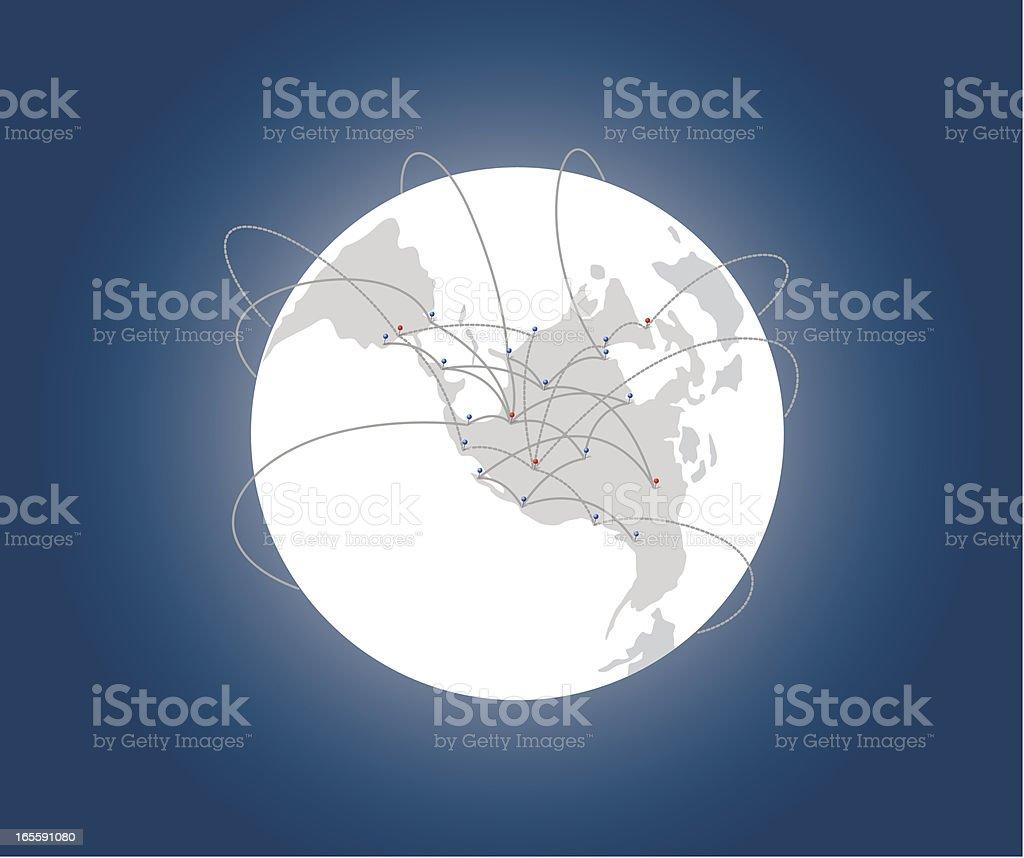 Global Travel royalty-free stock vector art