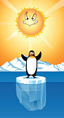 istock Global Warming and Penguin 1333770020