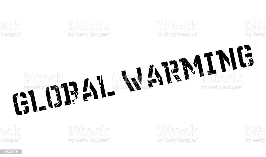 Global Warming rubber stamp royalty-free global warming rubber stamp stock vector art & more images of change