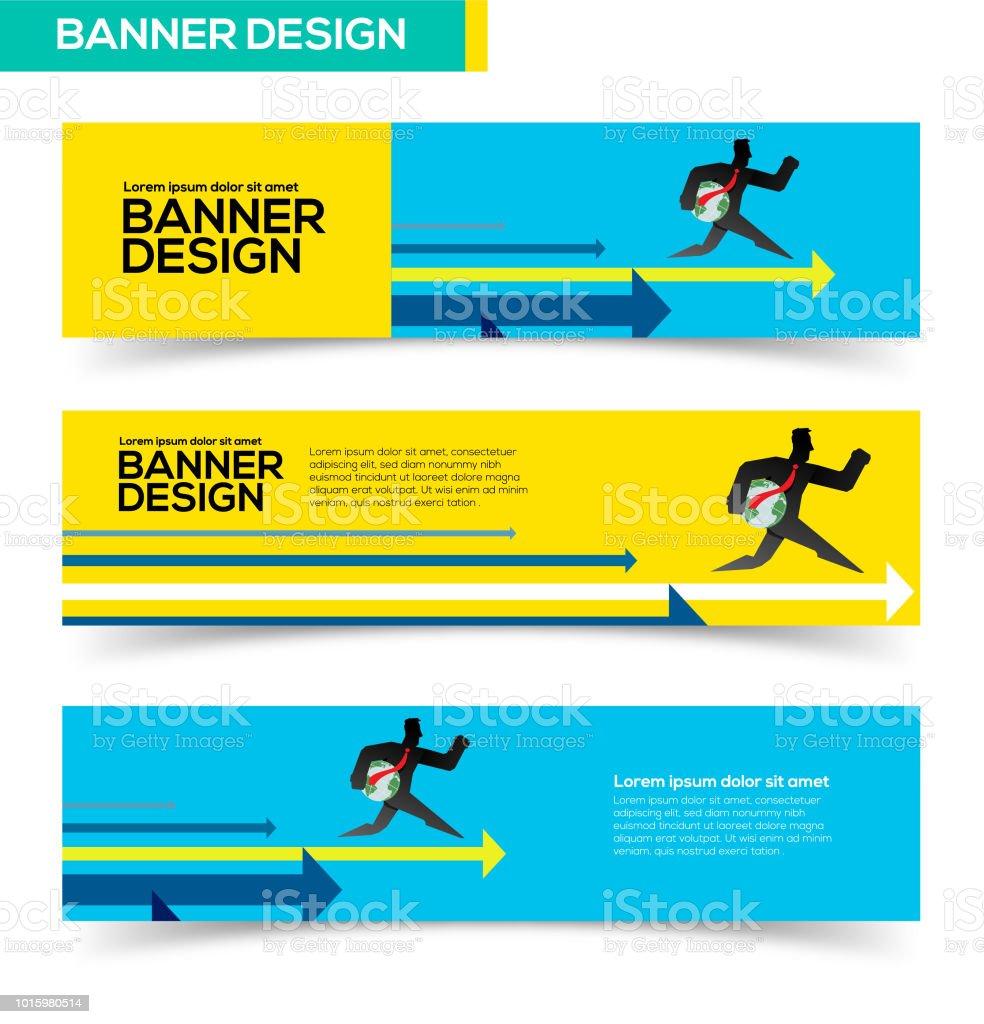 global winner banner design stock vector art more images of