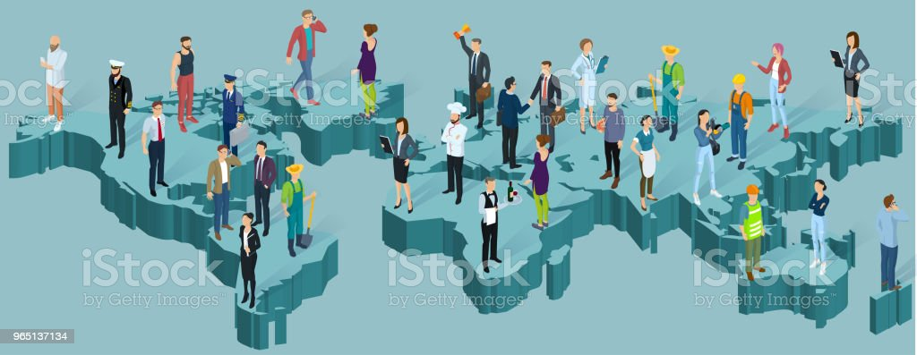 Global world isometric map. royalty-free global world isometric map stock vector art & more images of abstract