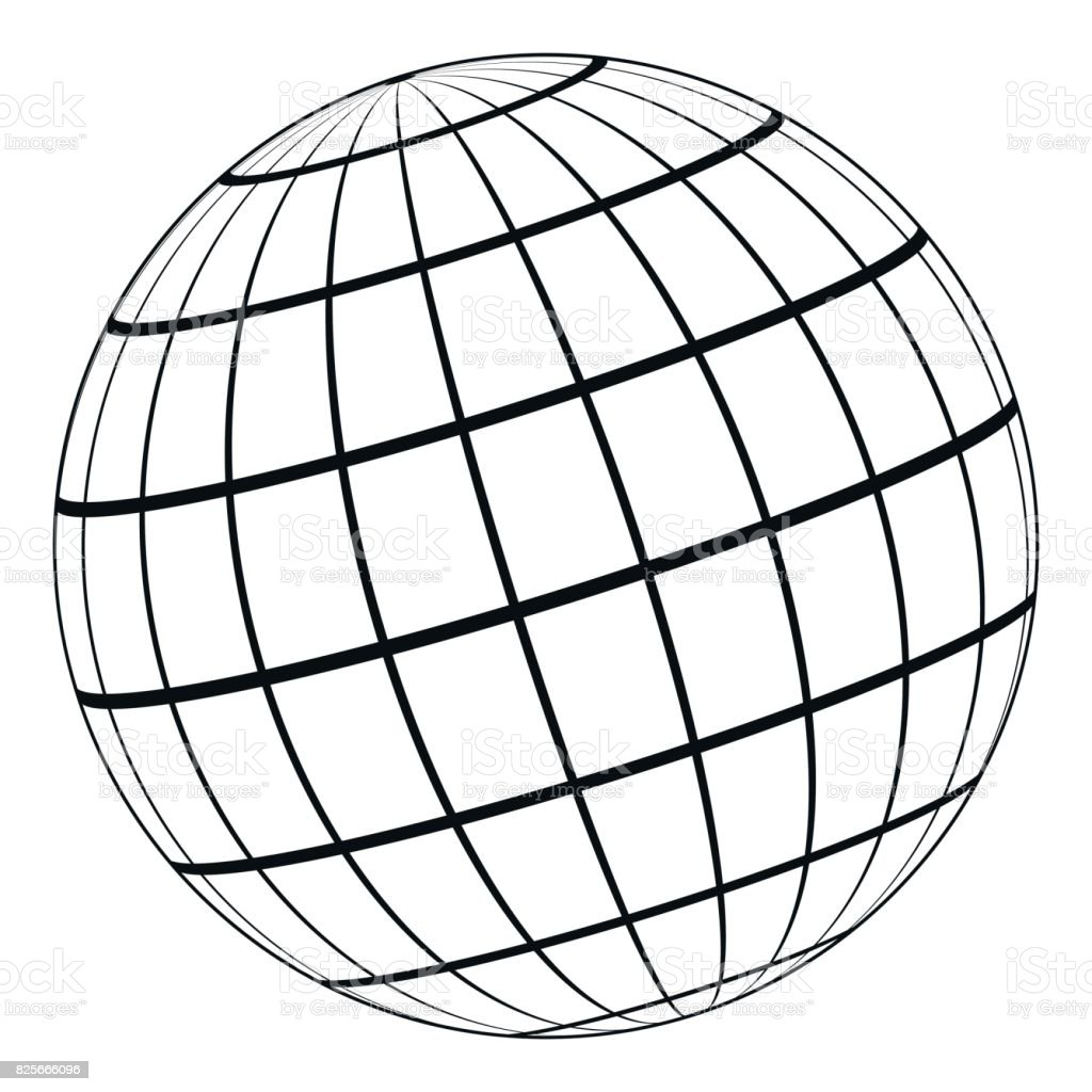 globe 3d model of the earth or planet model of the