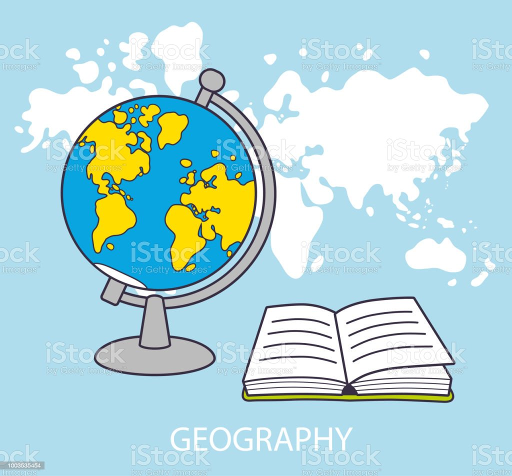Globe and open book in front of world map background stock vector globe and open book in front of world map background royalty free globe and open gumiabroncs Images