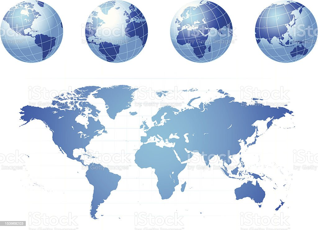 Globe and world map stock vector art more images of africa globe and world map royalty free globe and world map stock vector art amp gumiabroncs Image collections