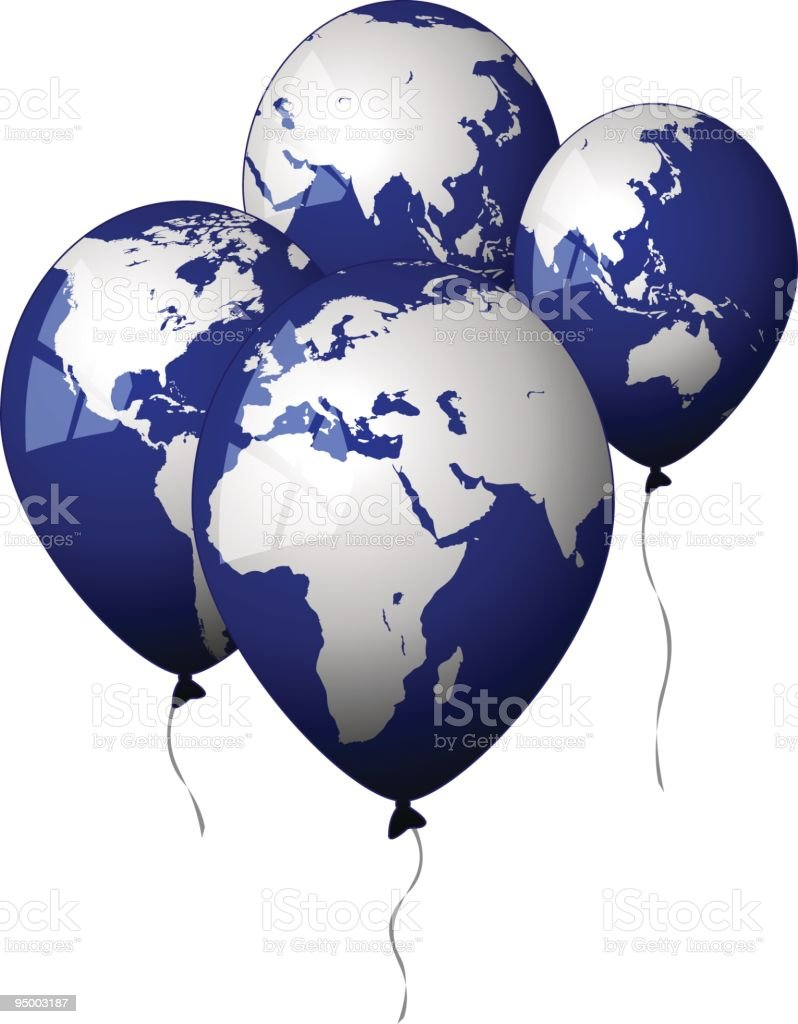 Globe balloons stock vector art more images of africa 95003187 globe balloons royalty free globe balloons stock vector art amp more images of africa gumiabroncs Gallery