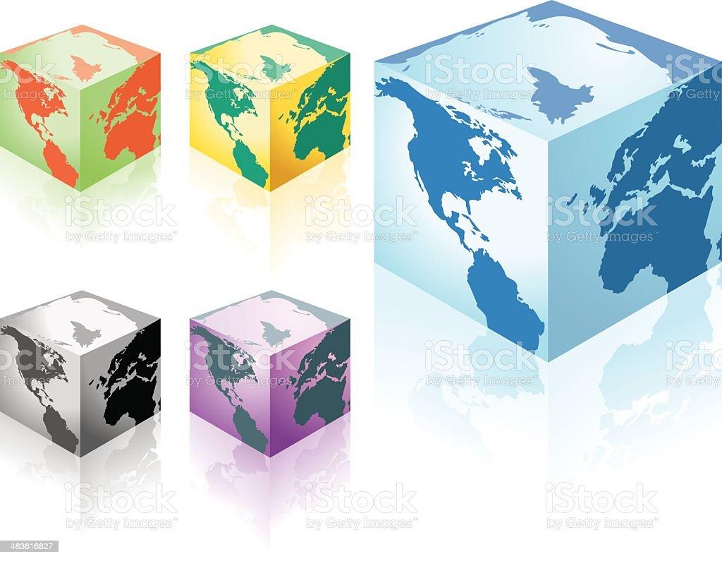 Globe Box royalty-free globe box stock vector art & more images of asia