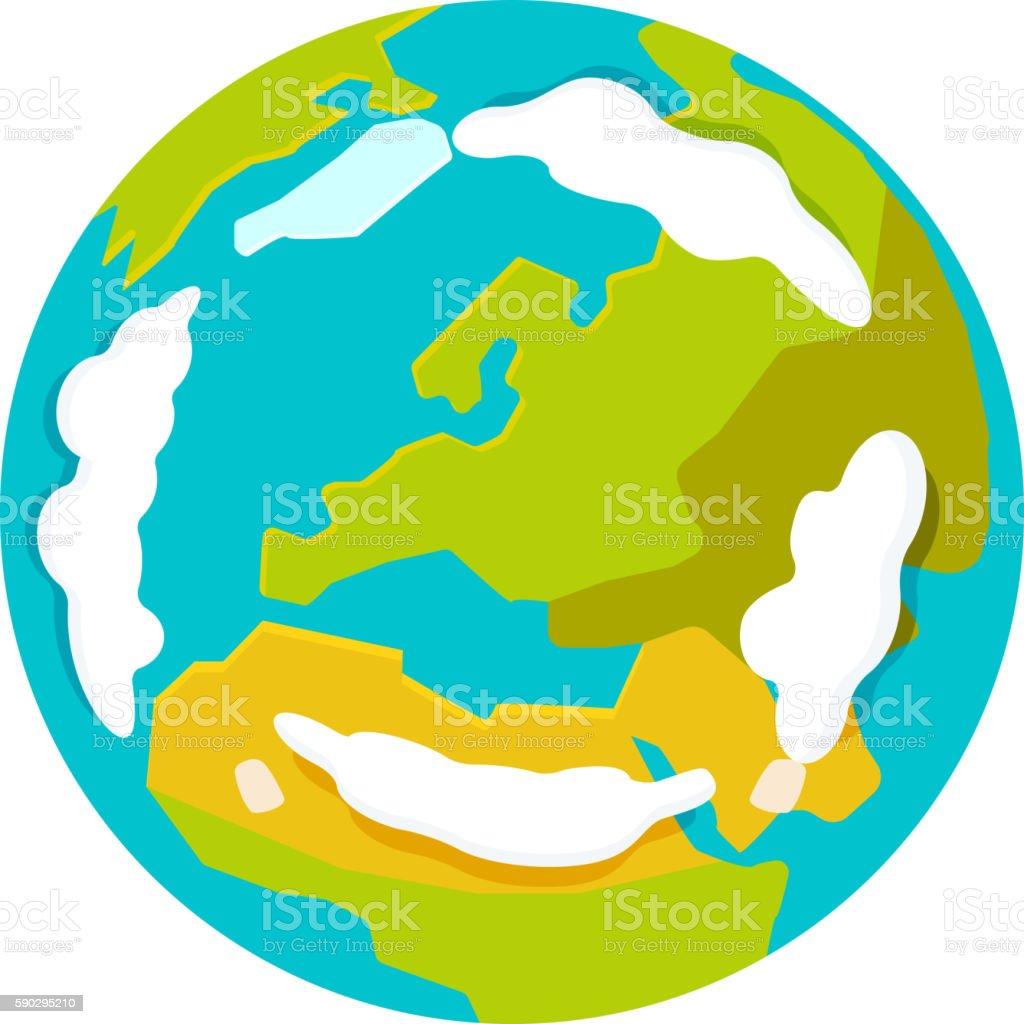 Globe earth icon vector royaltyfri globe earth icon vector-vektorgrafik och fler bilder på affärsresa