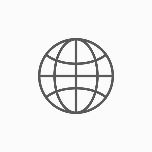 ilustraciones, imágenes clip art, dibujos animados e iconos de stock de icono de globo - suministros escolares