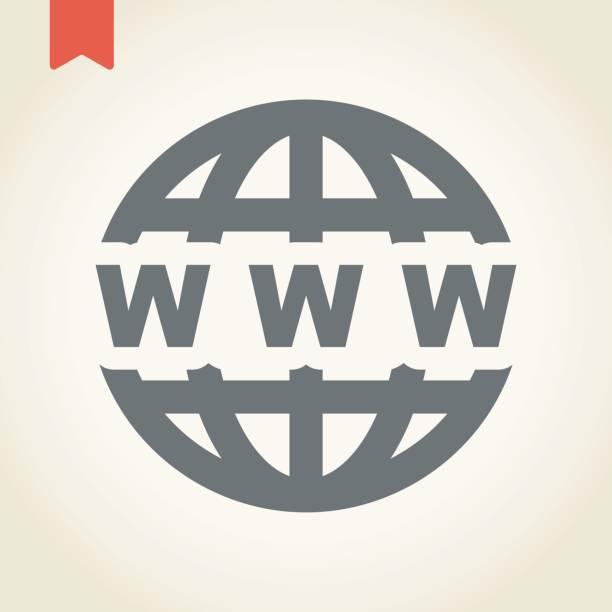 illustrations, cliparts, dessins animés et icônes de icône de globe - www