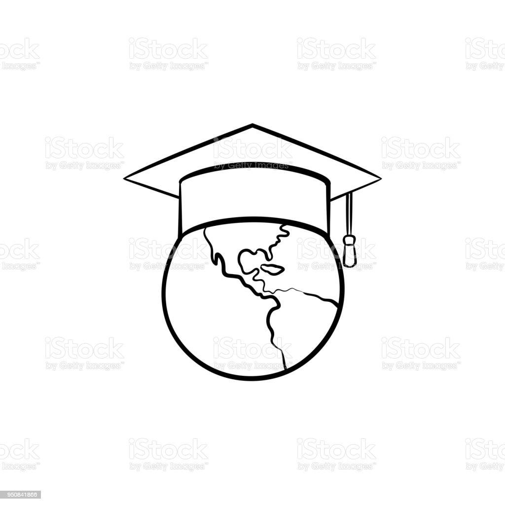 Cap Hat Drawing