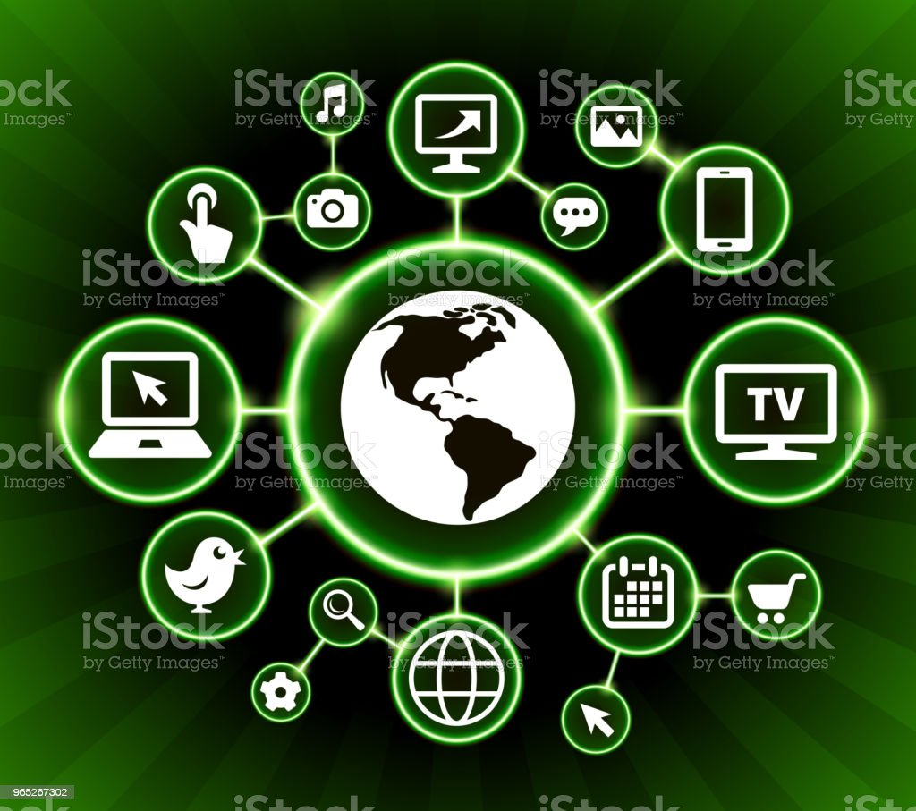 Globe Internet Communication Technology Dark Buttons Background globe internet communication technology dark buttons background - stockowe grafiki wektorowe i więcej obrazów ameryka południowa royalty-free