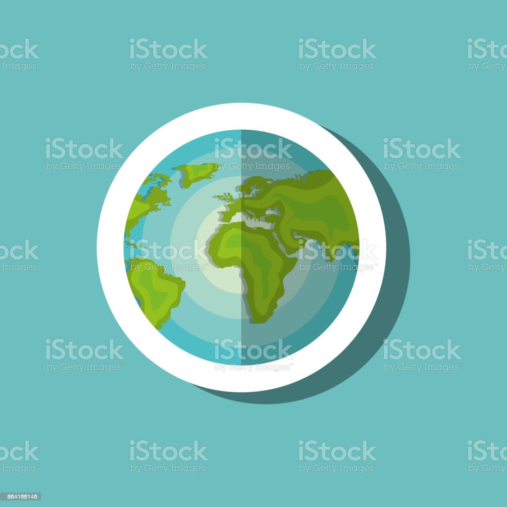 globe world travel vacation icon design royalty-free globe world travel vacation icon design stock vector art & more images of abstract