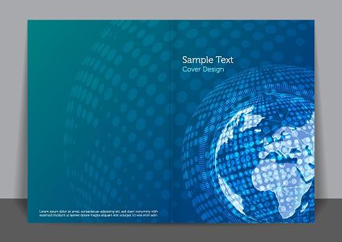 Globel Business Cover design
