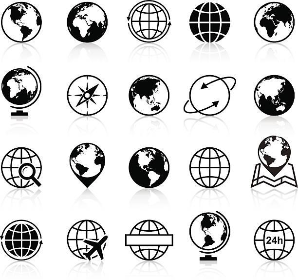 ilustraciones, imágenes clip art, dibujos animados e iconos de stock de globos de iconos y símbolos de ilustración - viaje a sudamérica