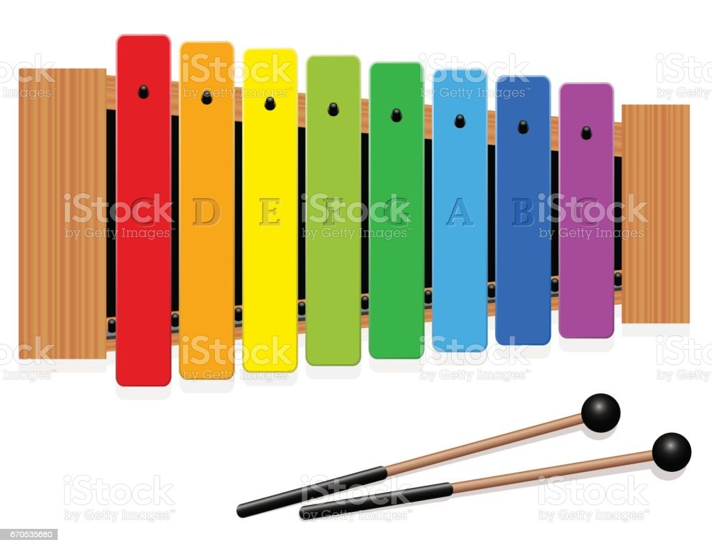 royalty free xylophone clip art vector images illustrations istock rh istockphoto com xylophone clip art black and white clipart of xylophone