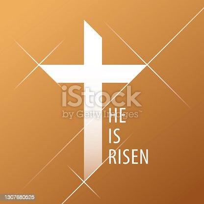 istock Glorious Cross 1307680525