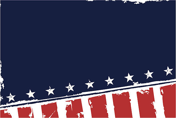 Glory Grunge Background A patriotic stock background illustration. distressed american flag stock illustrations