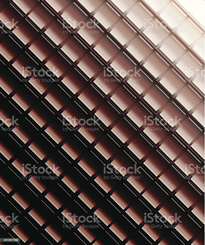 Glossy brown mosaic background royalty-free stock vector art