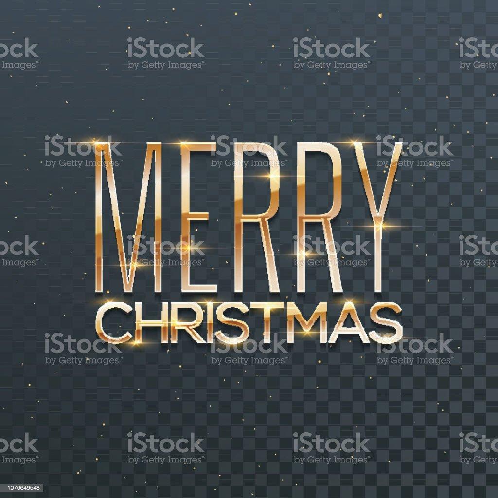 Schriftzug Frohe Weihnachten Beleuchtet.Glanzenden Goldenen Schriftzug Frohe Weihnachten Mit