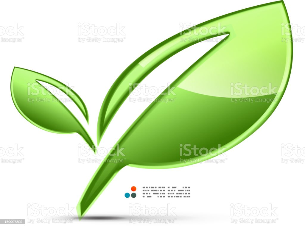 광택지 녹색 잎 royalty-free 광택지 녹색 잎 0명에 대한 스톡 벡터 아트 및 기타 이미지