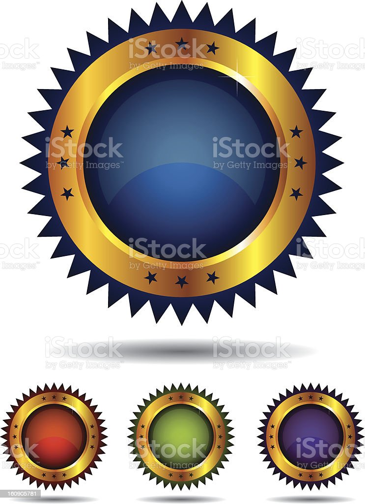 Glossy Icons royalty-free glossy icons stock vector art & more images of badge