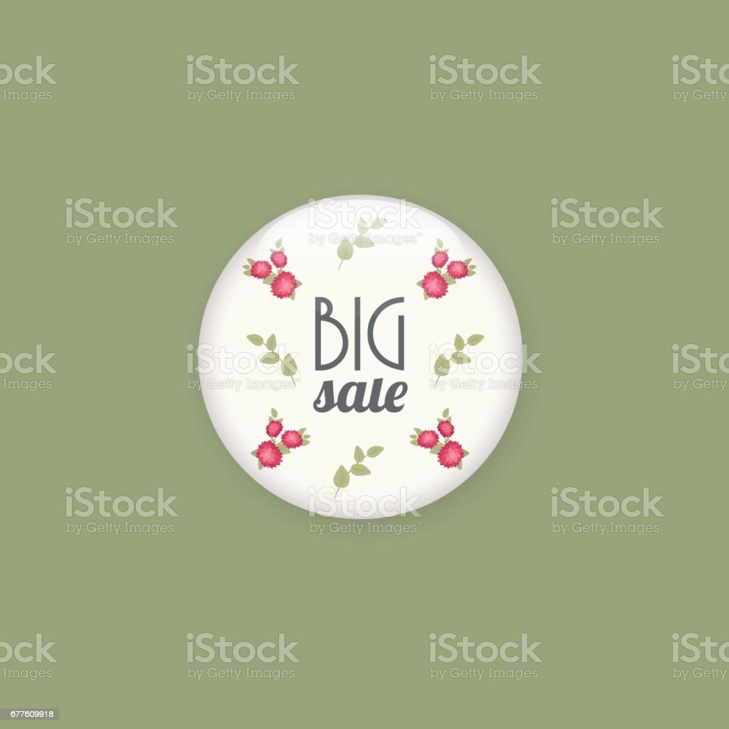 Glossy sale button or badge. royalty-free glossy sale button or badge stock vector art & more images of 50-54 years