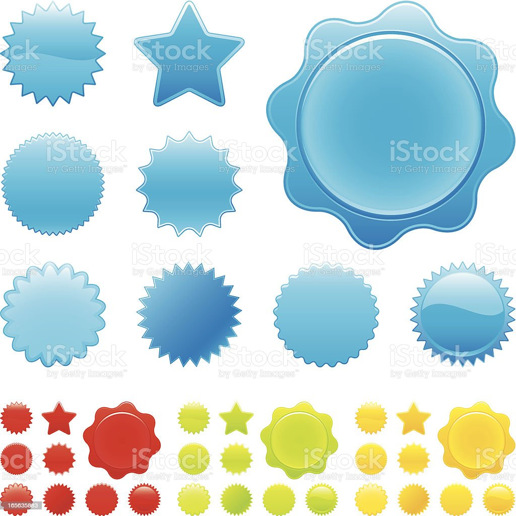 Glossy shapes royalty-free glossy shapes stock vector art & more images of blue