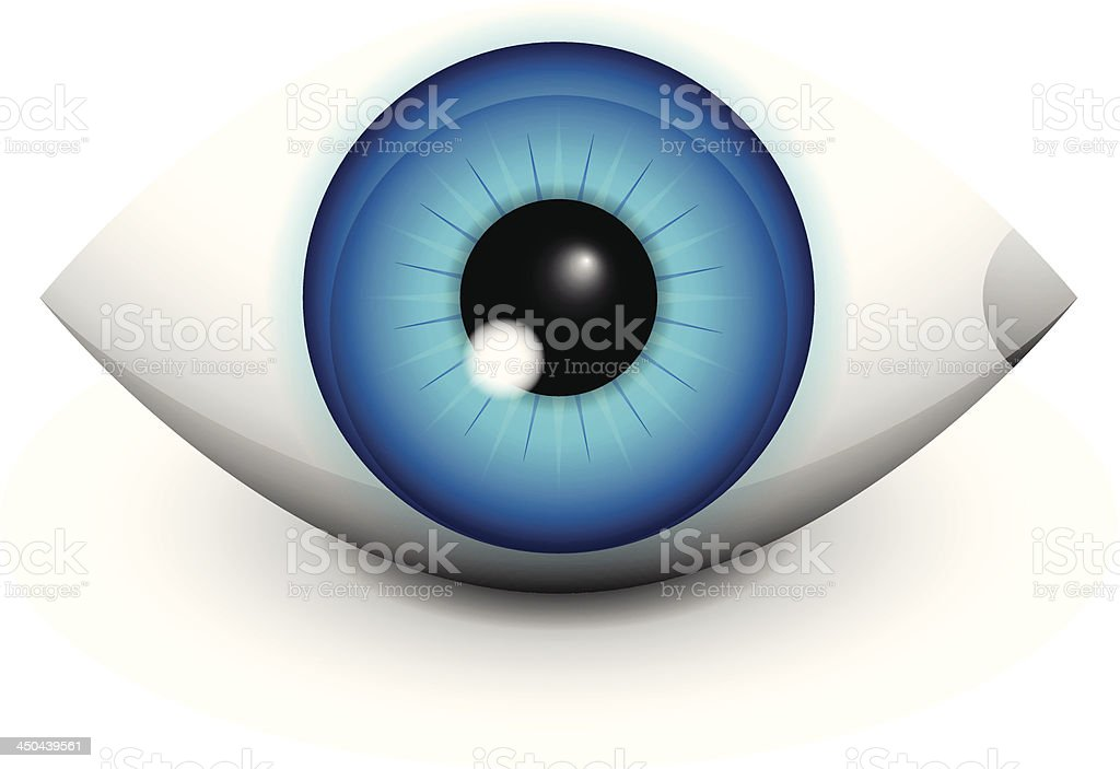 Glossy vector human eye royalty-free glossy vector human eye stock vector art & more images of abstract