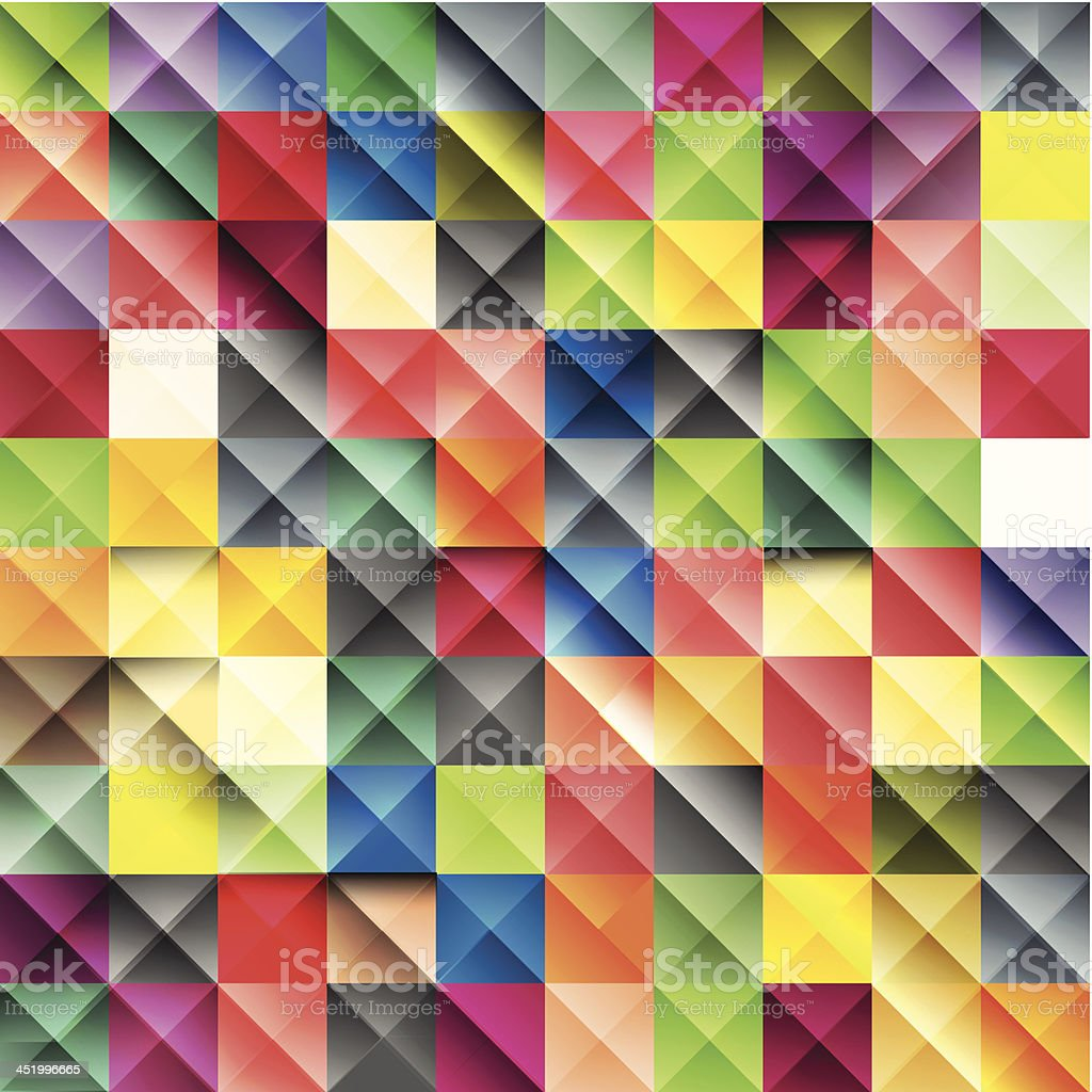 Glossy vector mosaic background royalty-free glossy vector mosaic background stock vector art & more images of abstract