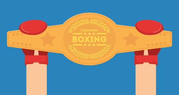 glove boxing sport design vector art illustration