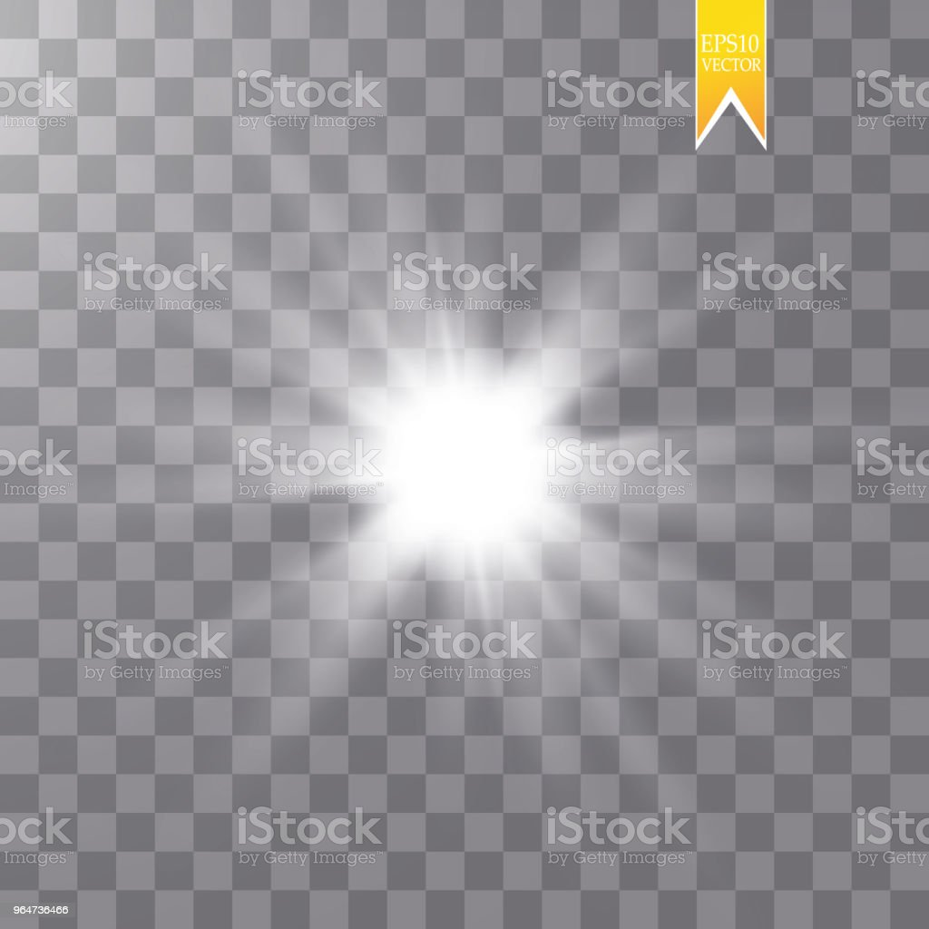 Glow isolated white transparent light effect set, lens flare, explosion, glitter, line, sun flash, spark and stars. Abstract special effect element design royalty-free glow isolated white transparent light effect set lens flare explosion glitter line sun flash spark and stars abstract special effect element design stock vector art & more images of abstract