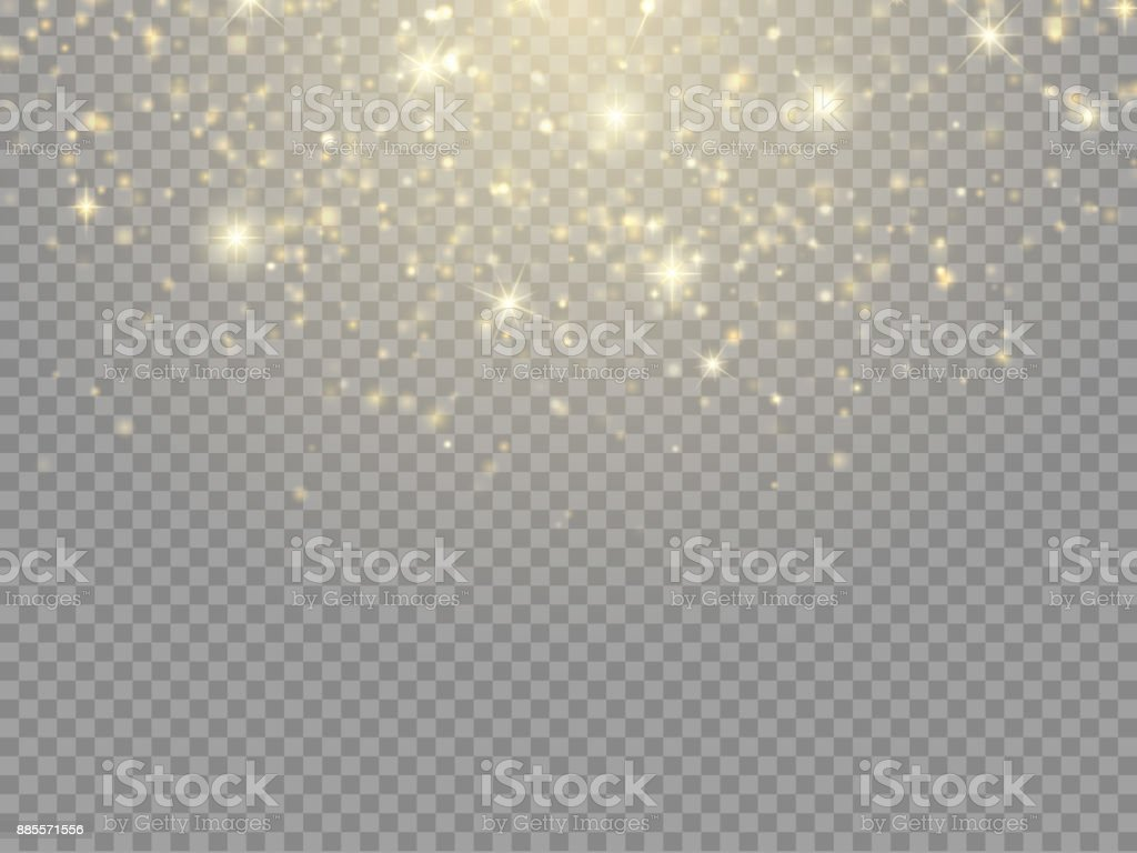 Glow light effect. Vector Christmas flash Concept vector art illustration